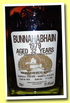 Bunnahabhain 32 yo 1979/2012 (51.4%, Signatory for Waldhaus am See Switzerland, cask #9516, 603 bottles)